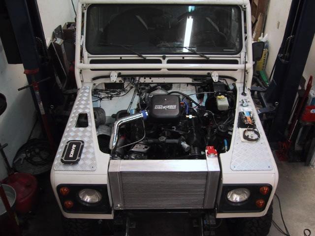 Engine Conversion Land Rover Defender ✓ Land Rover Car